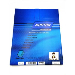 Wet or dry Norton Black Ice sandpaper, P240-2000