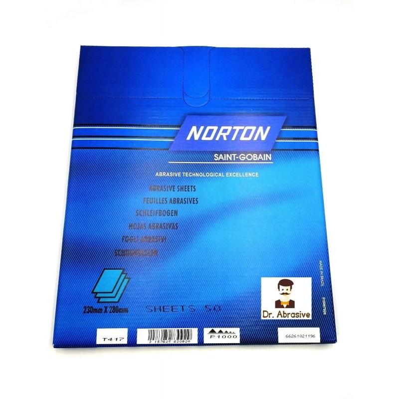Wet or dry Norton Black Ice sandpaper, P240-2000