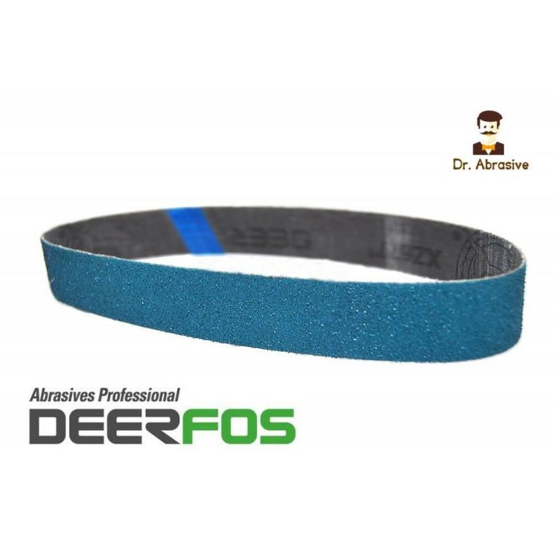 13 x 451mm Zirconium sanding belts Power File by Deerfos, P40-120