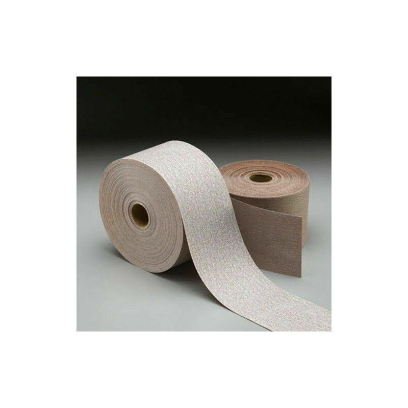 115mm Wet or dry Norton A275 roll No-Fil Layer, P120-400, price per meter