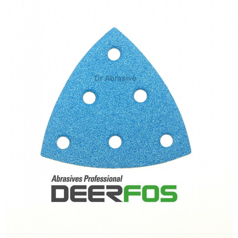 93mm wet or dry delta sanding sheets for Festool Rotex only, P40-240