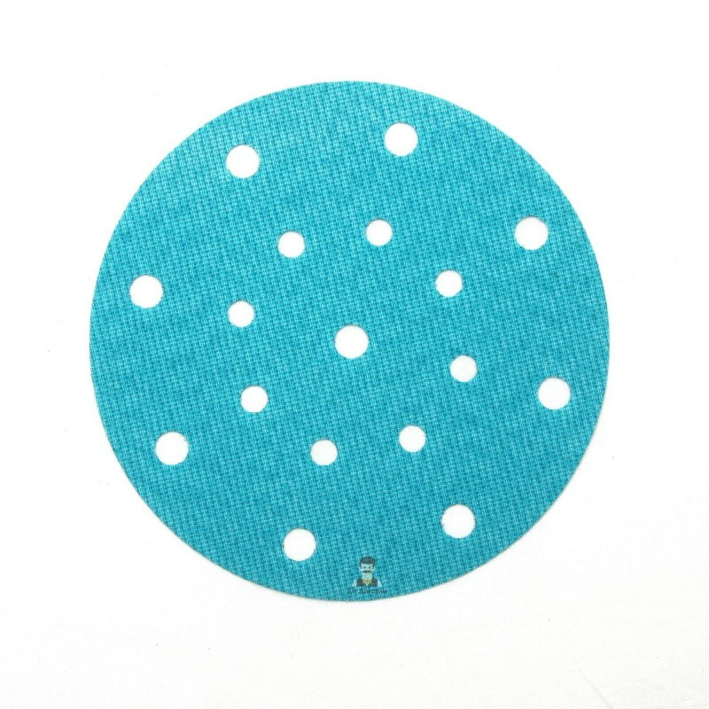 150mm, 17 hole Festool type, hook and loop replacement for backing pad