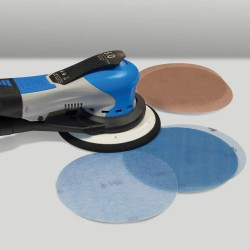 "150mm 6"" Corundum MeshPower Norton, wet or dry sanding discs, hook and loop, P80-400"