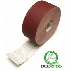 100mm Emery cloth sandpaper roll Deerfos, P24-600