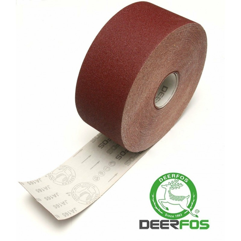 100mm Emery cloth sandpaper roll Deerfos, P24-600