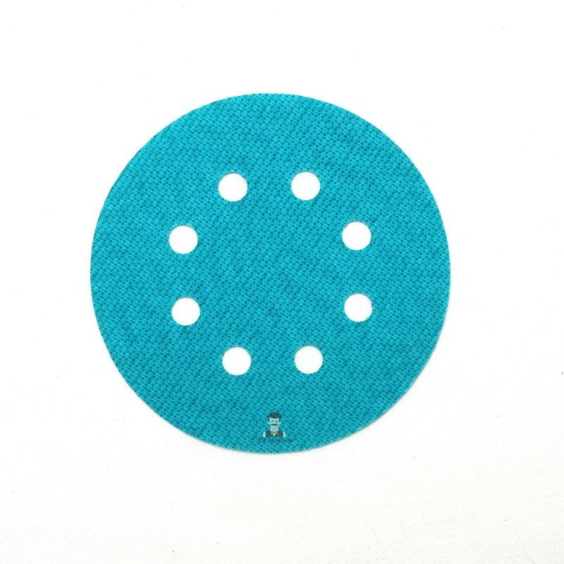 125mm 8 hole hook and loop replacement for backing pad