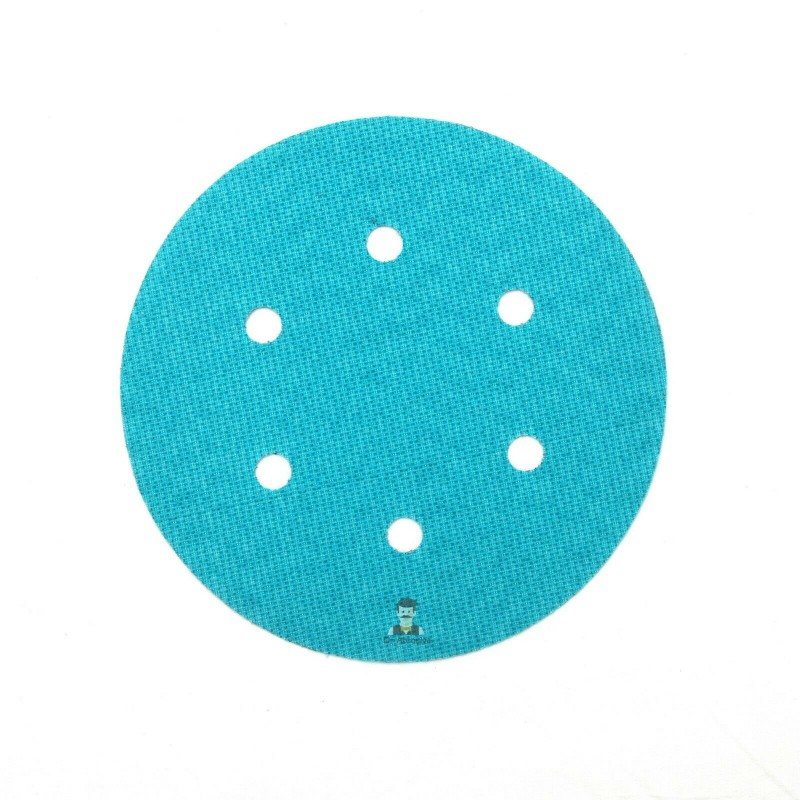 150mm 6 hole hook and loop replacement for backing pad