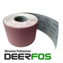 100mm Stiff emery cloth sandpaper roll Deerfos XA167, P24-240