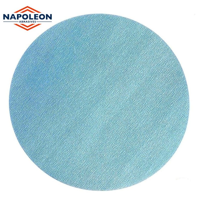 "125mm 5"" wet or dry Napoleon sanding discs, hook and loop, no hole, P80-2000"