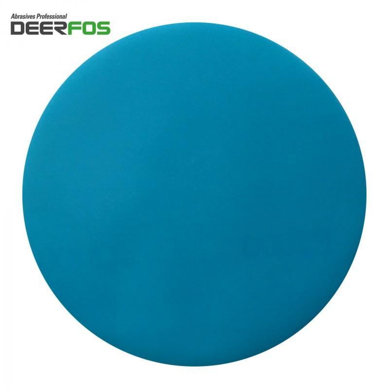 "150mm 6"" Wet or dry Deerfos sanding discs, hook and loop, no hole, P40-3000"