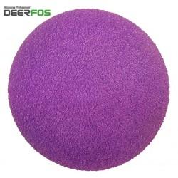 """150mm 6"""" ceramic wet or dry Deerfos sanding discs, hook and loop, P40-120 HOOK AND LOOP, NO HOLE, P40-3000"""