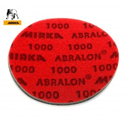 "150mm 6"" Wet or dry Mirka Abralon sanding pads, no hole, P180-3000"