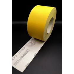 76mm hook and loop sandpaper roll Deerfos, P40-600