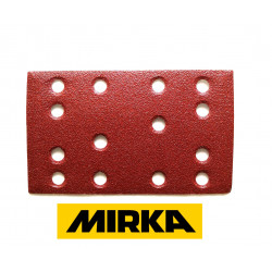 Mirka sanding pads 80x133 for Festool etc, hook and loop, grit 40-240