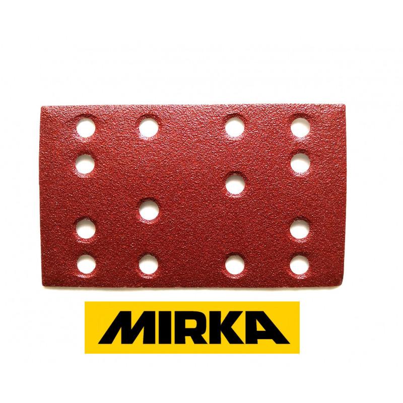 Mirka sanding pads 80x133 for Festool etc, hook and loop, grit 40-240