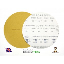 "300mm 12"" Deerfos sanding discs, hook and loop,  P40-180"