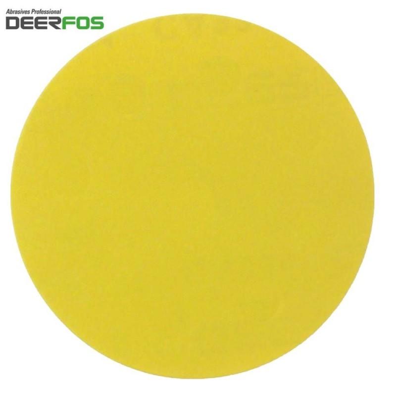 "300mm 12"" Deerfos sanding discs, hook and loop,  P40-180"