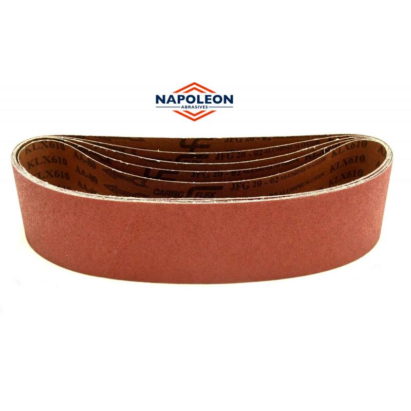 100 x 915mm 4'' x 36'' sanding belts, P40-240