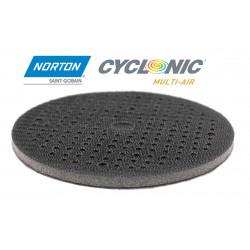 "150 mm 6"" Norton Interface Pad Saver Mousse Map Multi Hole Hook&Loop Foam"
